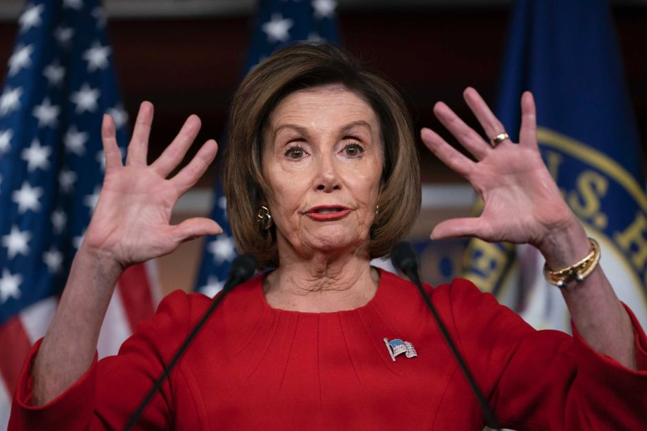 PELOSI SNAPS AT REPORTER OVER BIDEN ALLEGATION, DOUBLES DOWN ON SUPPORT: 'I DON'T NEED A LECTURE'