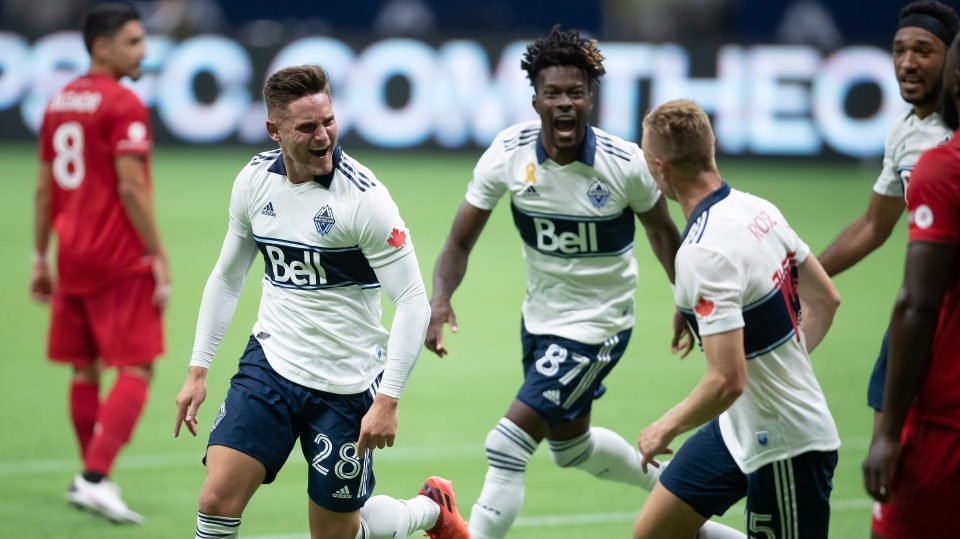 Vancouver Whitecaps snap losing skid with 3-2 win over Toronto FC
