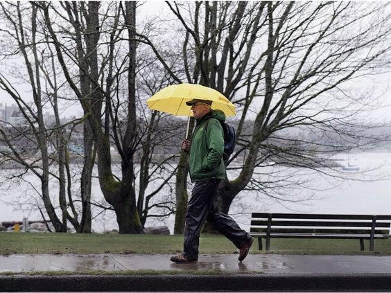 Vancouver Weather: Rainfall warning continues for Lower Mainland