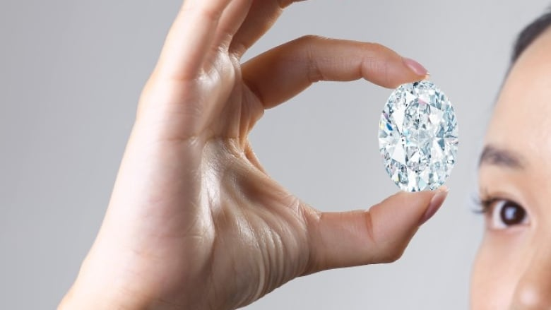 Rare 102-carat Canadian diamond at auction this month could be among the world's most expensive