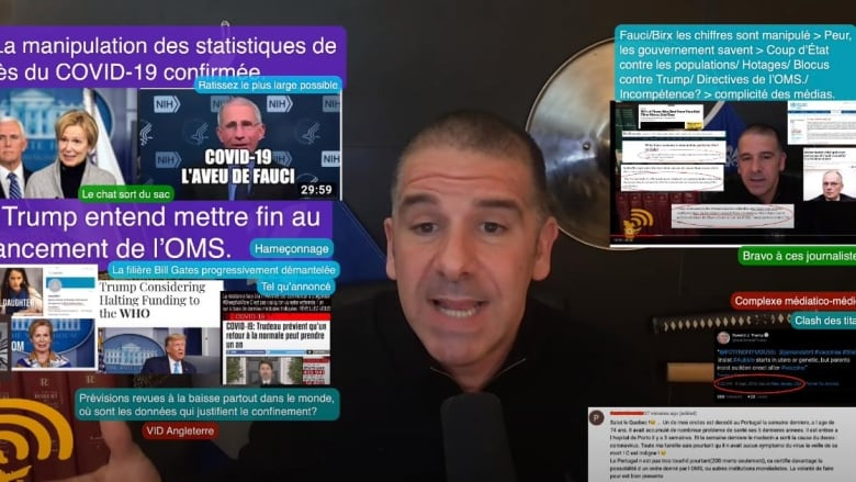 Quebec conspiracy theorist kicked off YouTube for spreading COVID-19 misinformation