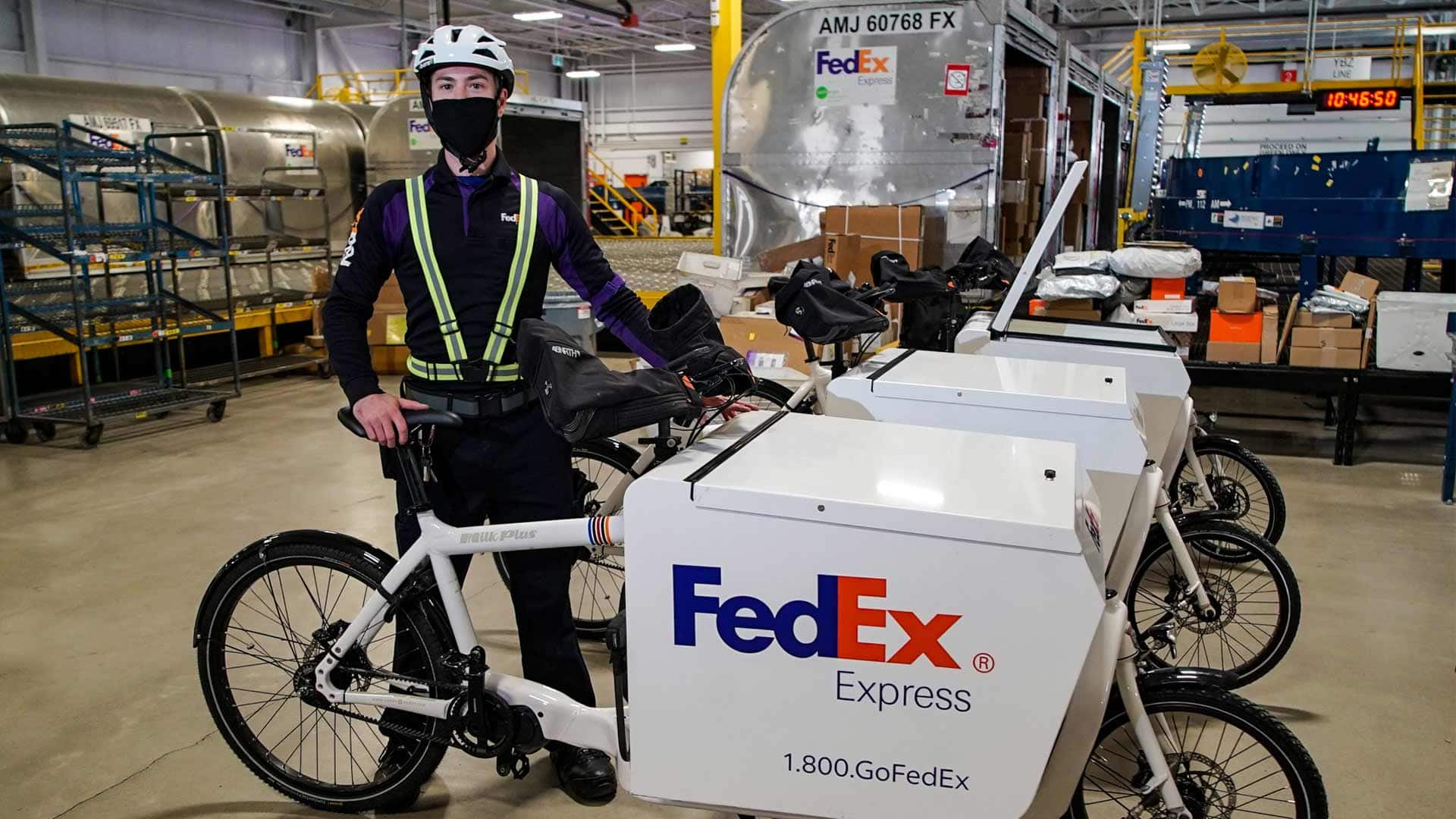 Parcel delivery companies are trading trucks for bikes in some Canadian cities. Here's why