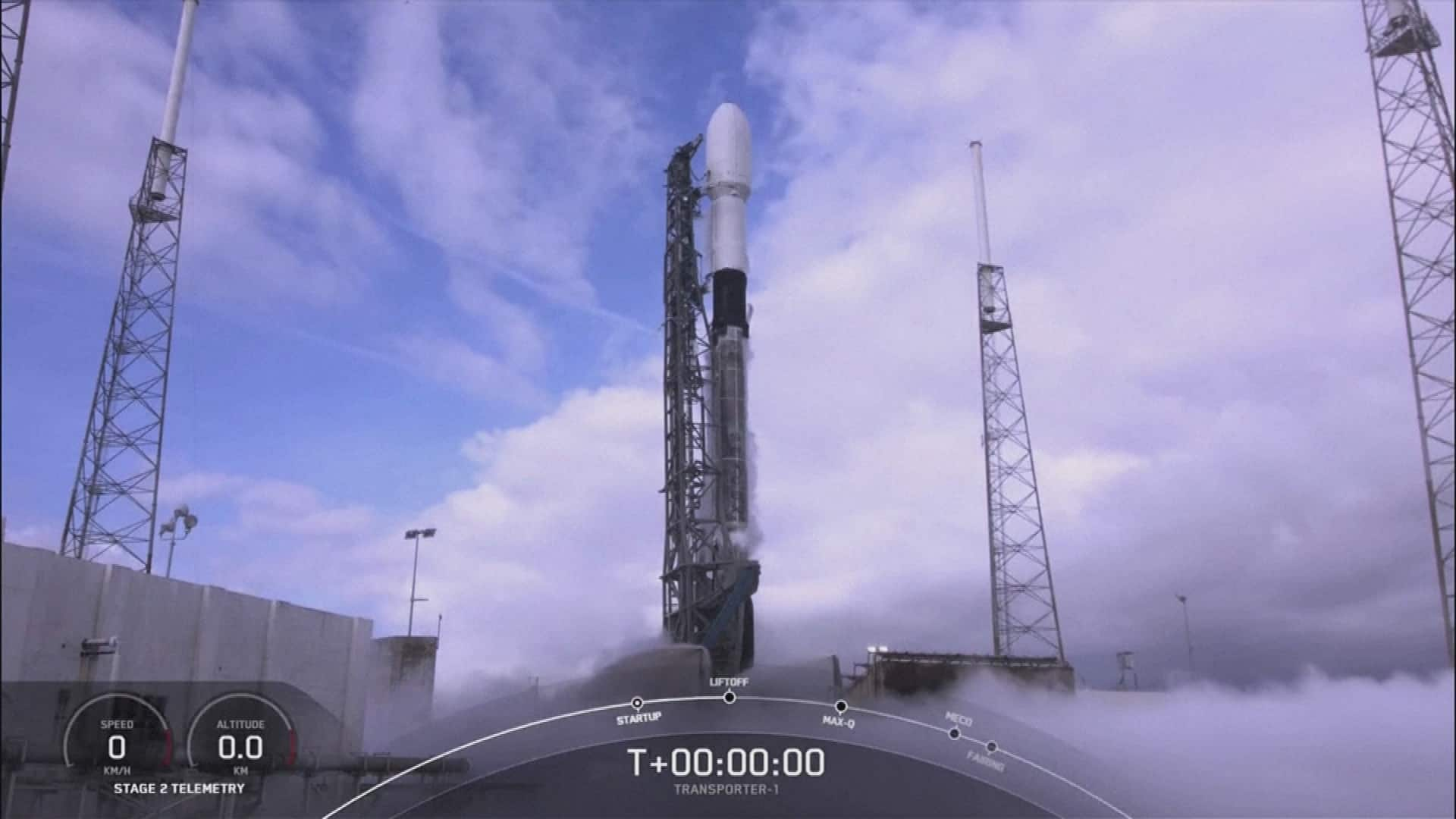 SpaceX sets record for most spacecraft shuttled to orbit in a single mission