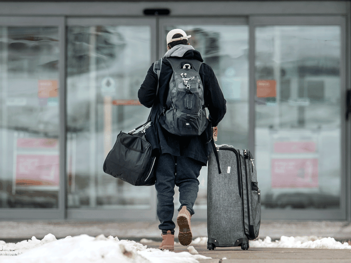 International air passengers grumble as they're forced into quarantine hotels on new rule's first day
