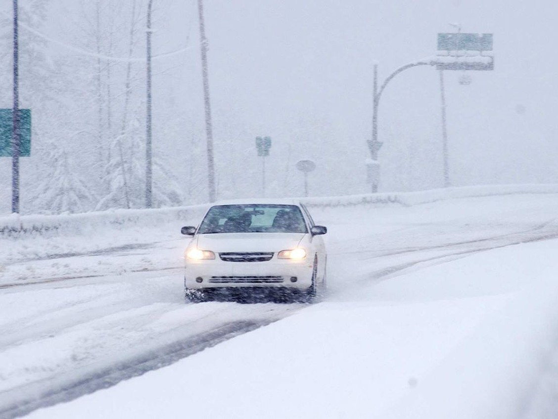 Winter storm warnings issued for several B.C. highways