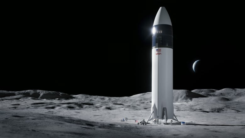 SpaceX wins $2.9B contract for NASA moon lander