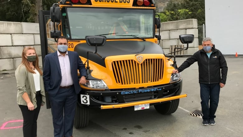 Electric school buses hit the road in Vancouver