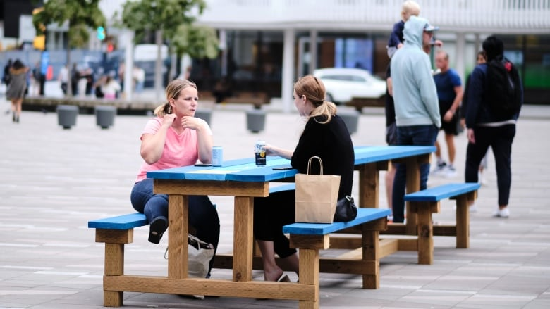 Outdoor drinking at select city plazas back again this summer in Vancouver