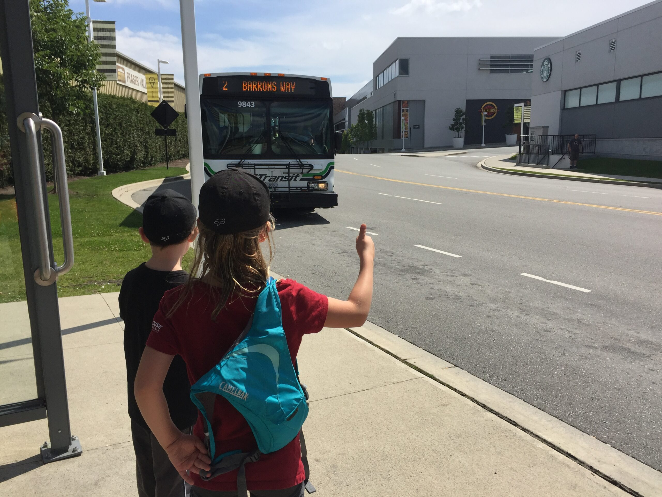 Children 12 and under can now ride for free on B.C. public transit