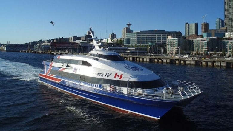 Fast ferry service between Victoria and Seattle suspended until 2022